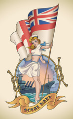 Royal Navy girl