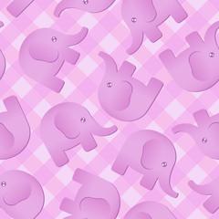 Pink Elephant Background