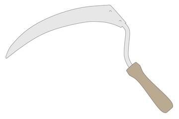 cartoon image of farming tool