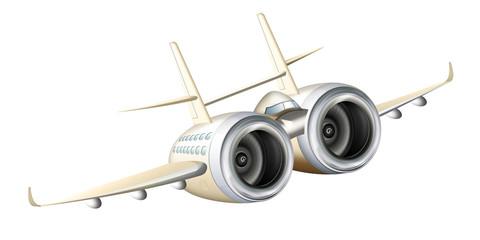 Flugzeug, Jumbo Jet comic