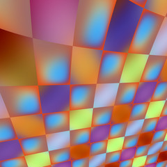 Iridescent Tiles