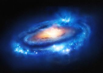 Super Massive Galaxy