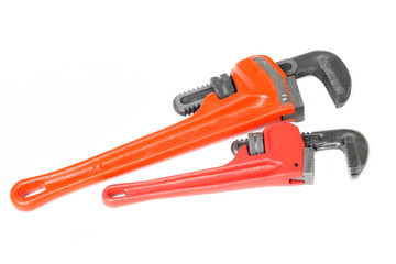 Pair of monkey wrenches