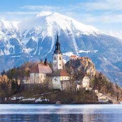 Bled lake, Slovenia, Europe.