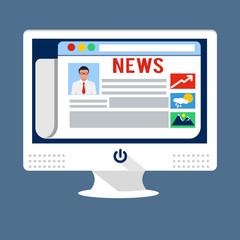 news internet website