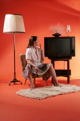 Langeweile vorm Fernseher