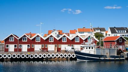 Swedish fishing town