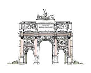 Paris, sketch collection: Triumph  Arch