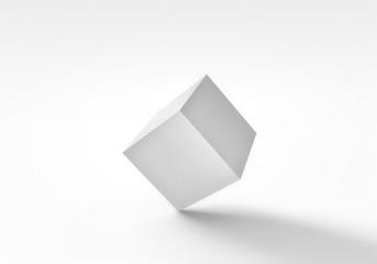 3D cube abstraction
