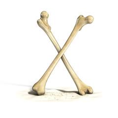 bones font letter X