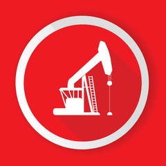 Oil,Industry button,vector
