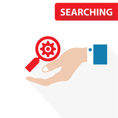 Searching concept,vector