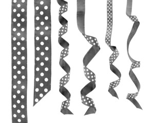 collage of ribbons