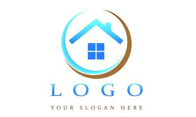 Company Logo with House