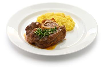 ossobuco alla milanese, italian cuisine