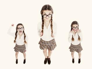nerd in vintage style