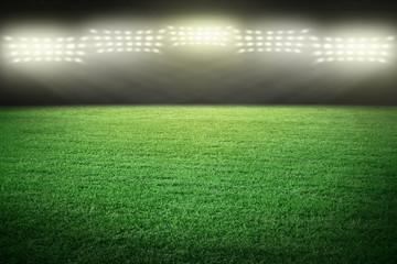 Sport stadium arena in lights