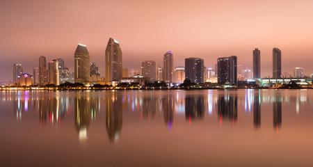 San Diego California West Coast United States City Skyline