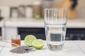 Chia beverage ingredients