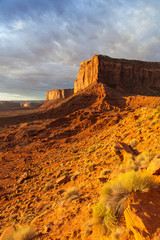 Wall Mural - Monument Valley Sunrise