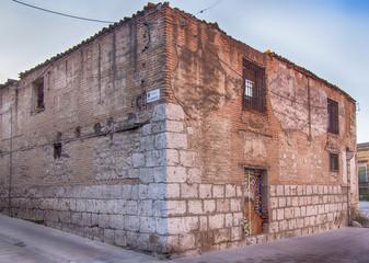 ruined facade