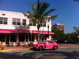 big pink miami beach