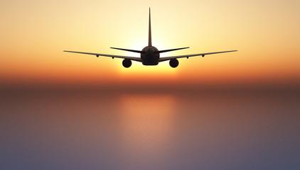 avion de pasajeros Wall mural