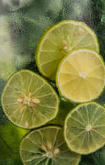 Lime juice for background