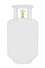 cartoon image of gas can