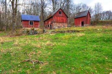 Abandoned Swedish farm