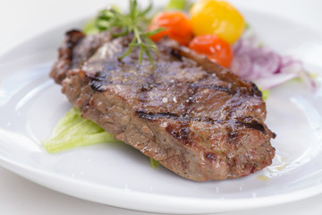 Wall Murals Ready meals Grilled beef steak