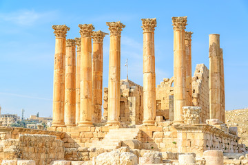 The Temple of Artemis is a Roman temple in Jerash, Jordan.