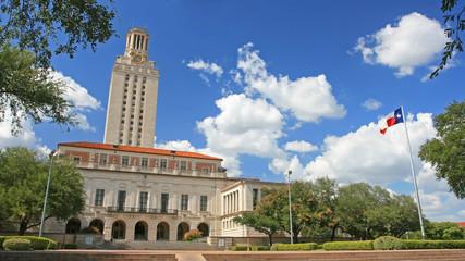 Landscape of  University of Texas (UT) building