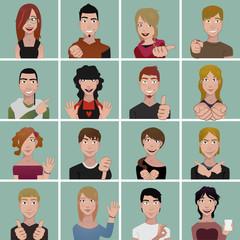 teenager avatars