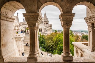 BUDAPEST, HUNGARY - SEP 30: Fisherman's bastion on September 30,