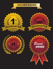 Guarantee golden badge