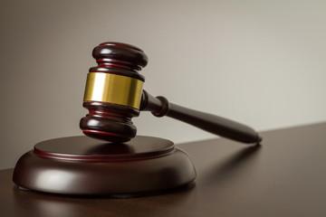 Richterhammer - Recht Konzept