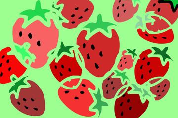Erdbeeren - gesunde Kost, Liebling der Kinder