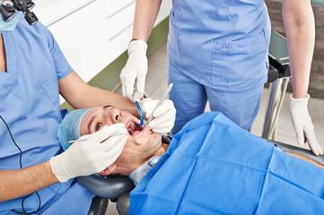 Dentist surgery. Photos taken in a real surgery