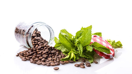 Coffee and mint