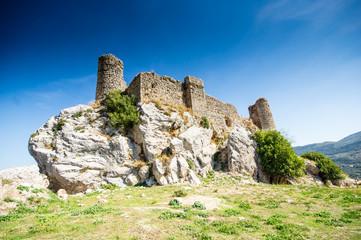castle in Carcabuey in Cordoba, Spain