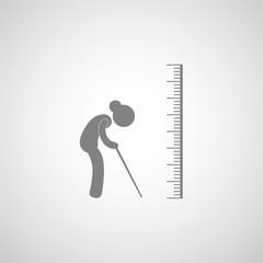 scale symbol  for elder