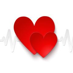 Heart rate emblem