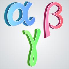 Alpha beta gamma, greek alphabet