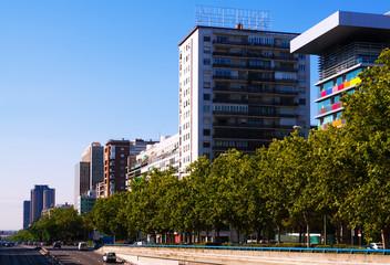 Paseo de la Castellana. Madrid, Spain