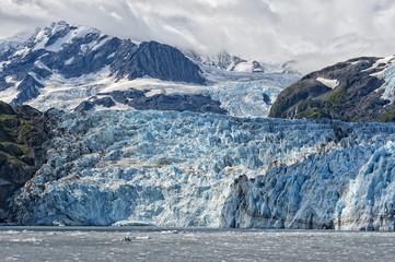 Photo sur Plexiglas Glaciers Harriman glacier in Alaska