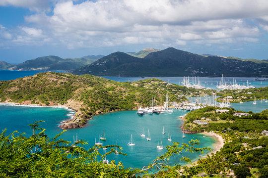 Entrance to Antigua Yacht Club