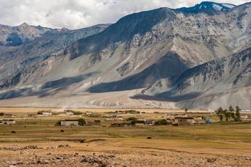 Padum village, Zanskar valley, Jammu and Kashmir, North India