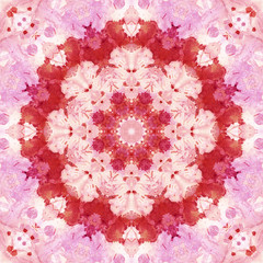 Seamless pattern, watercolor painting