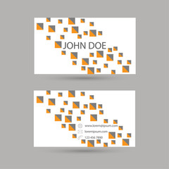 Template business cards.